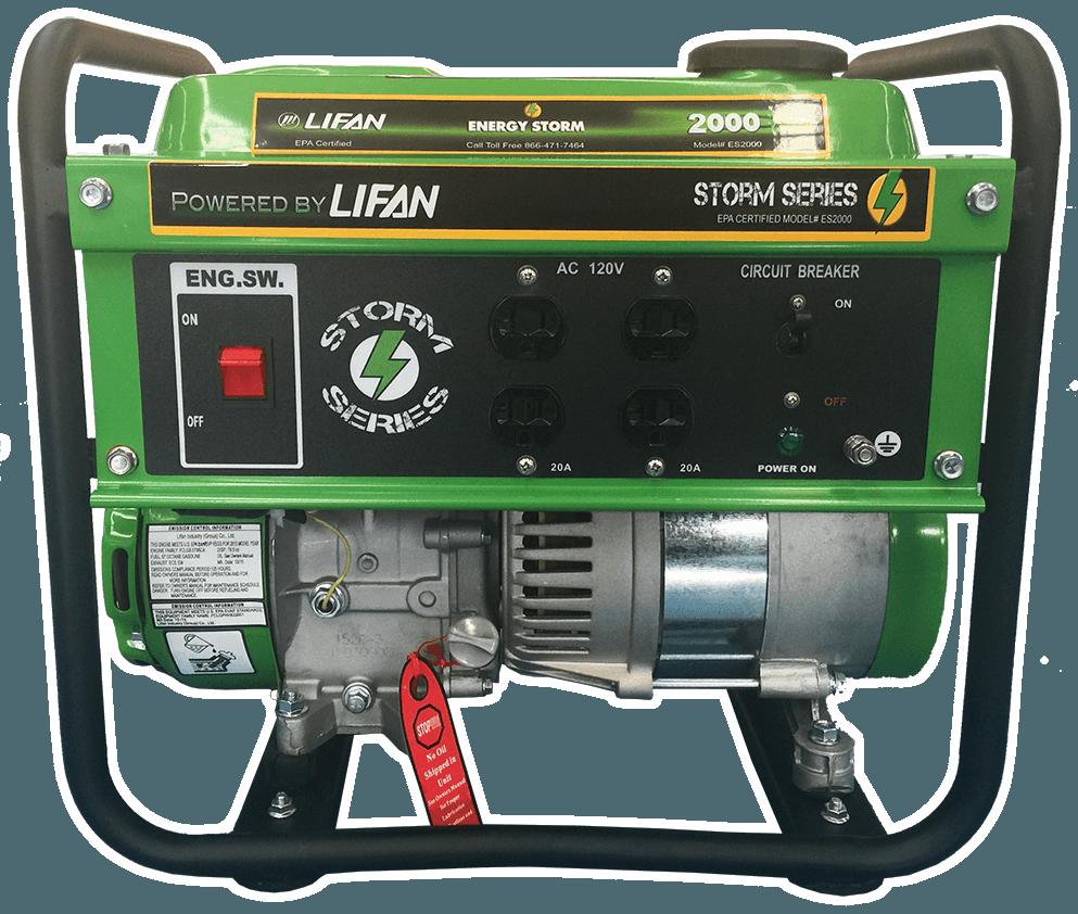 energy storm 2000 lifan power usa