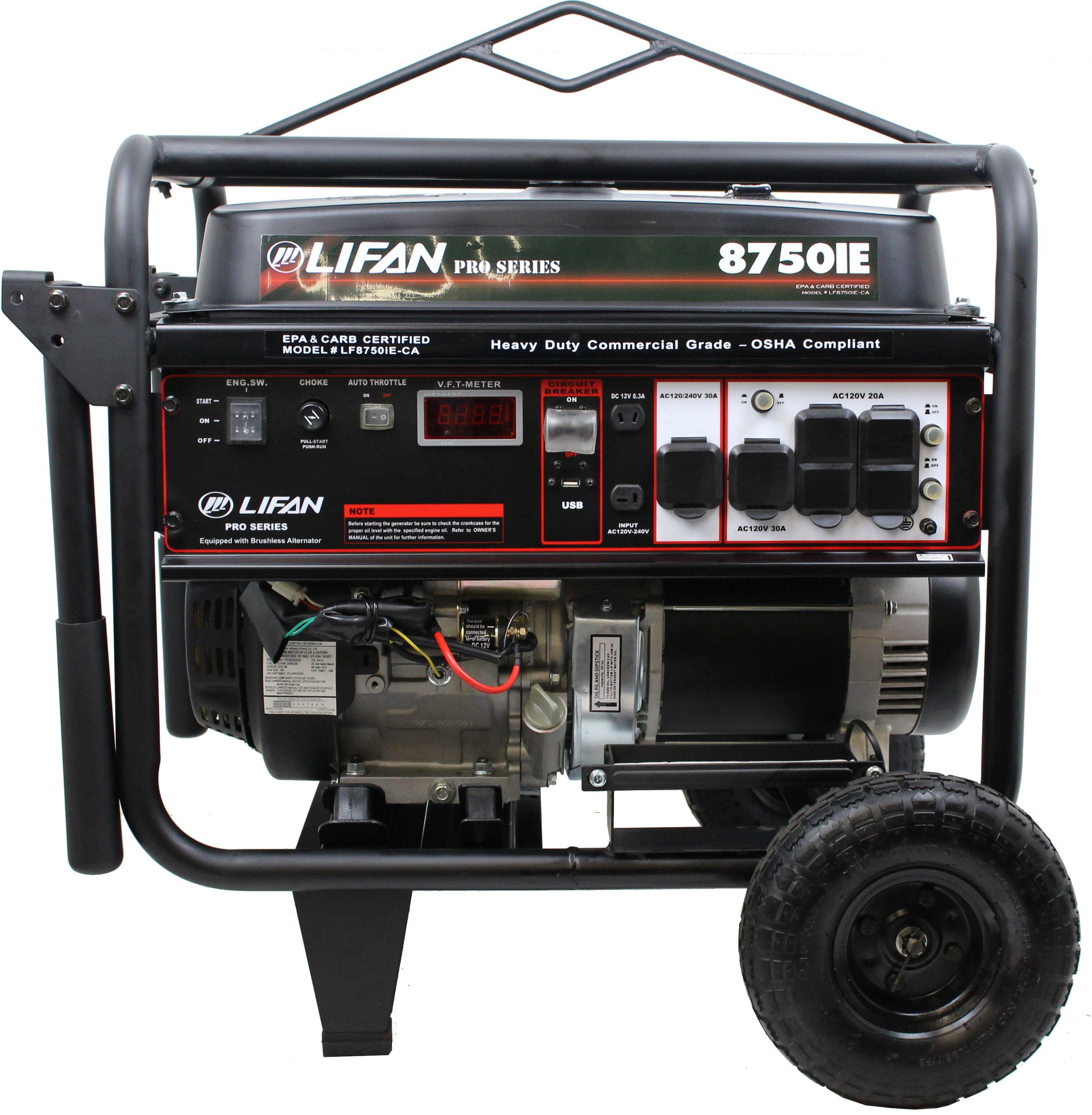 Lf8750ie Photos Lifan Power Usa Brushless Alternator Wiring Diagram