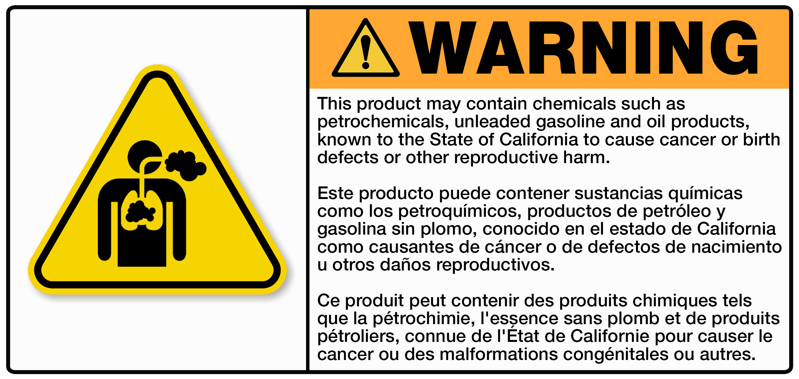 CA Prop 65 Label