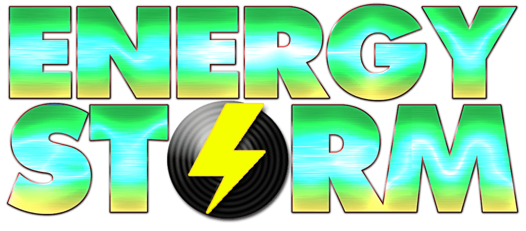 Energy Storm stacked logo